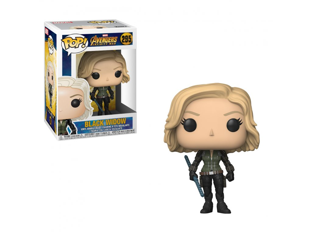 Black Widow Avengers Infinity War Figurka Funko POP!