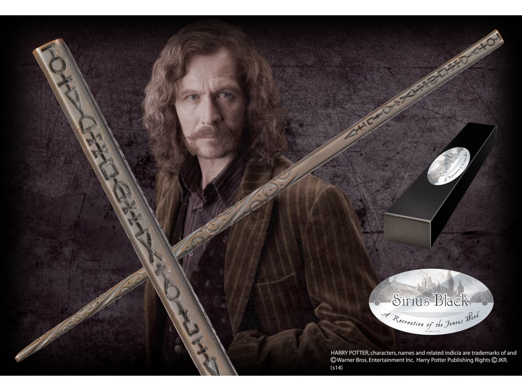 Harry Potter - Hůlka Sirius Black Noble Collection